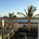 Utsikten från vår balkong