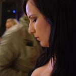 Vacker tjej på blogawards 2011