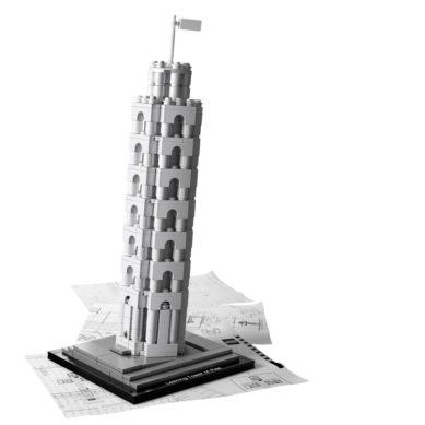 Lego – Lutande Tornet i Pisa