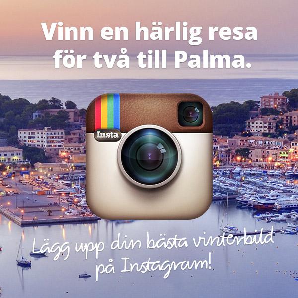 Tävla med Travellink på Instagram