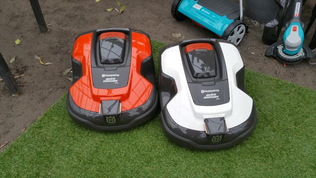Två nya robotgräsklippare från Husqvarna