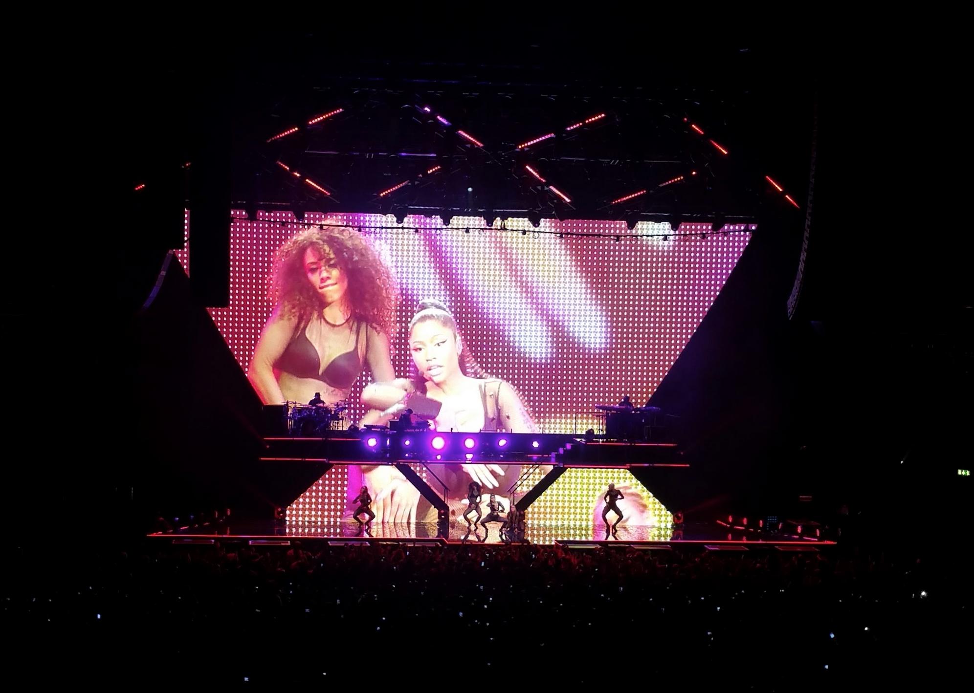 Wallenrud tittar på: Nicki Minaj i Globen