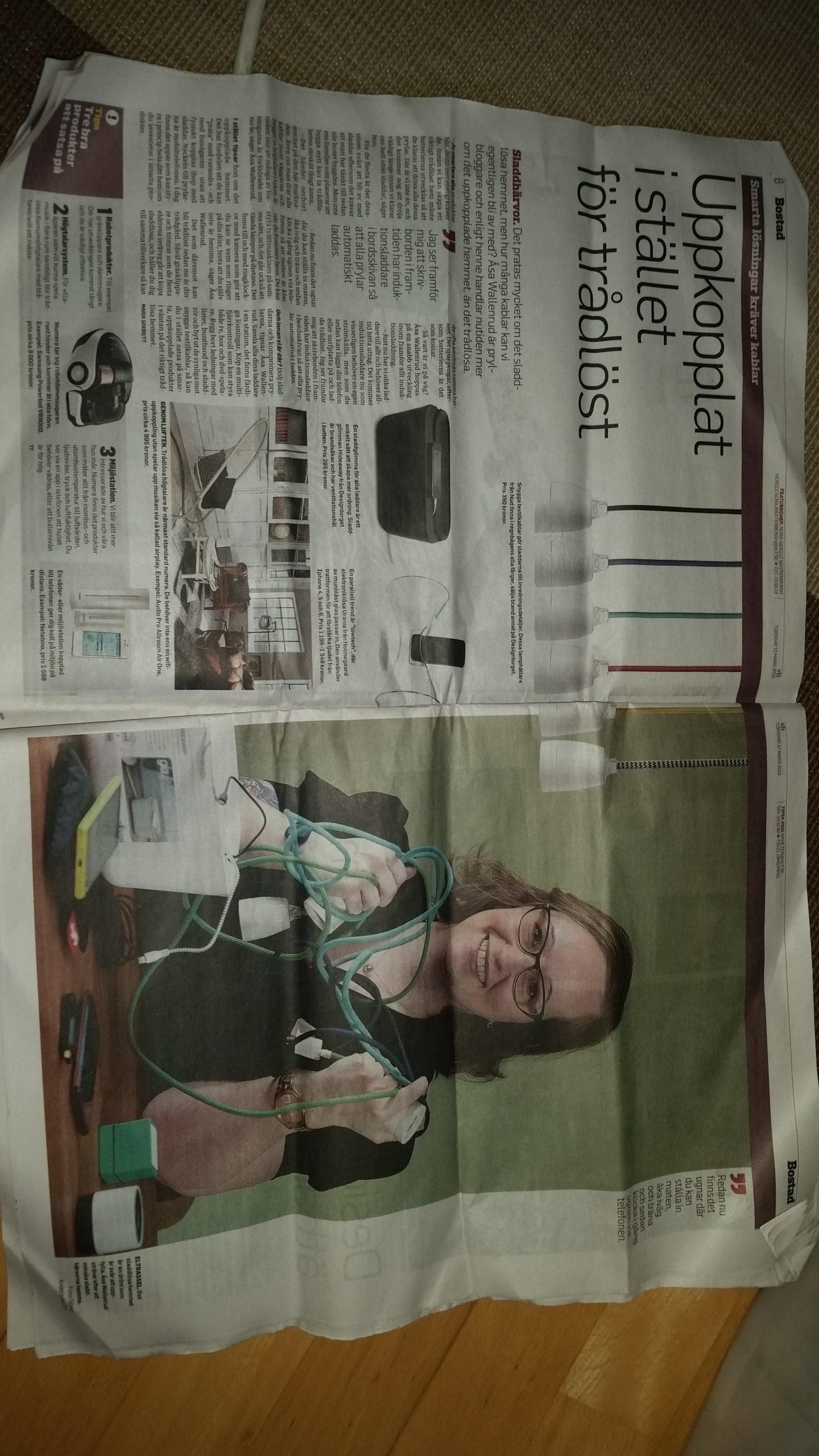 Har ni sett mig i tidningen?