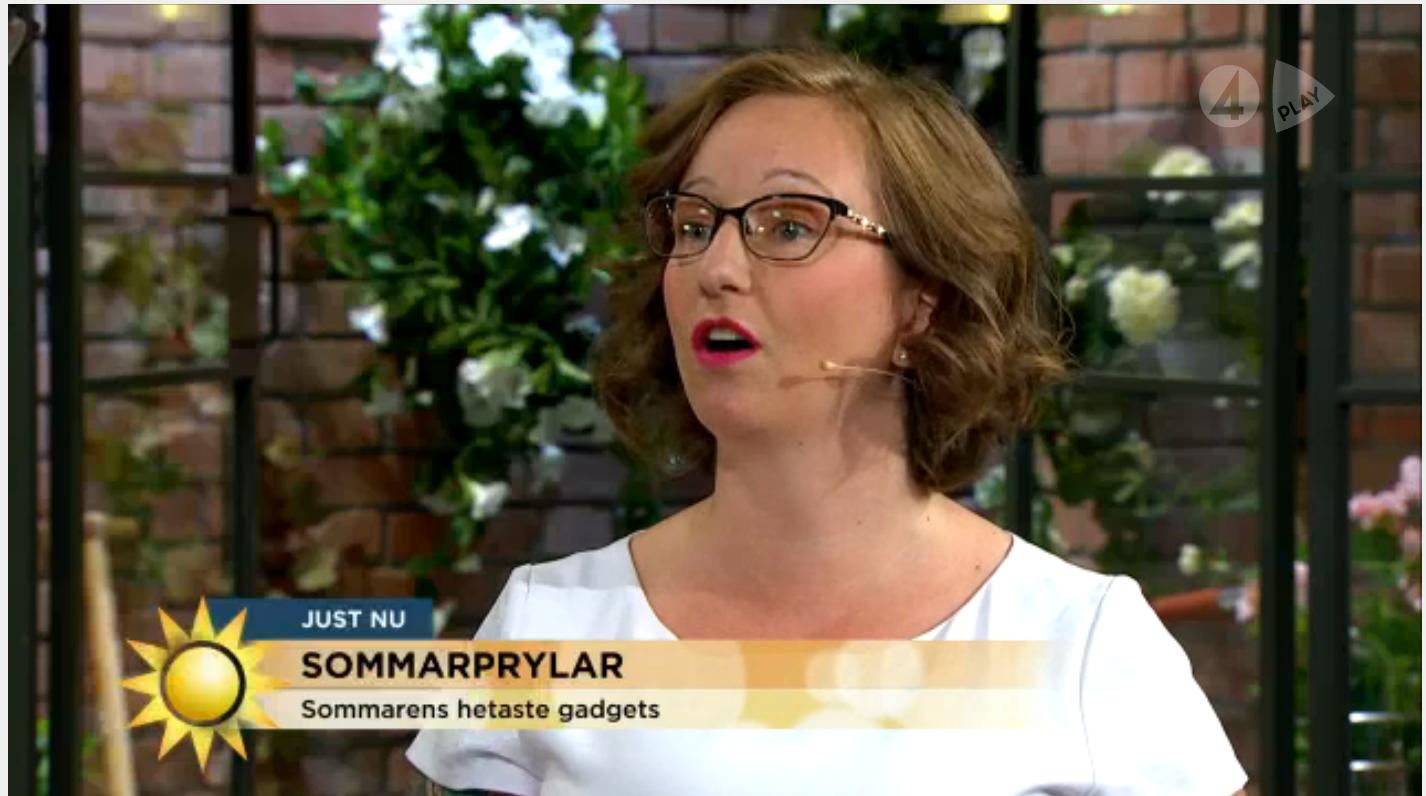 Här är klippet från TV4 Nyhetsmorgon