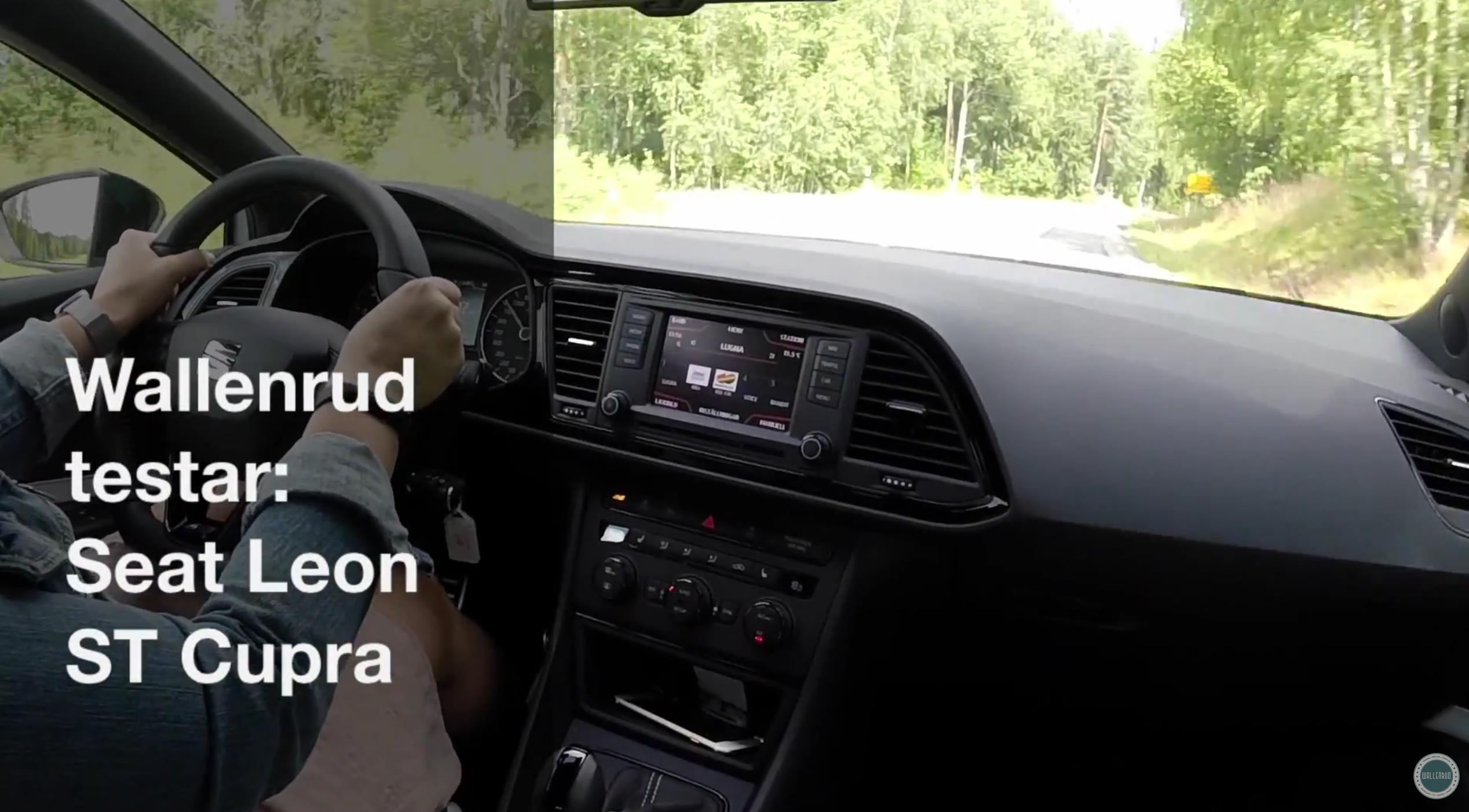 Wallenrud testar: Seat Leon ST Cupra (video)