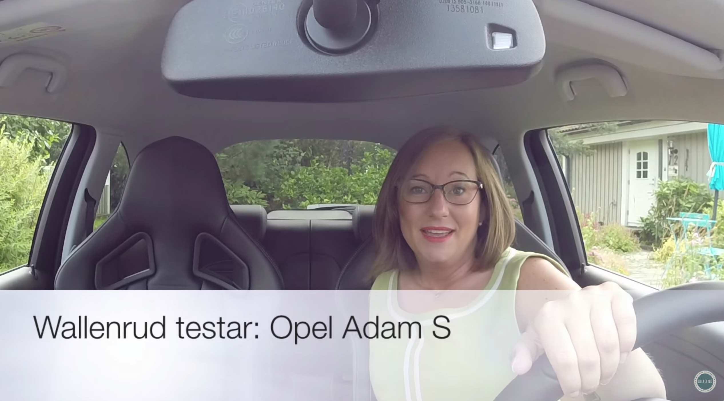 Wallenrud testar: Opel Adam S (video)