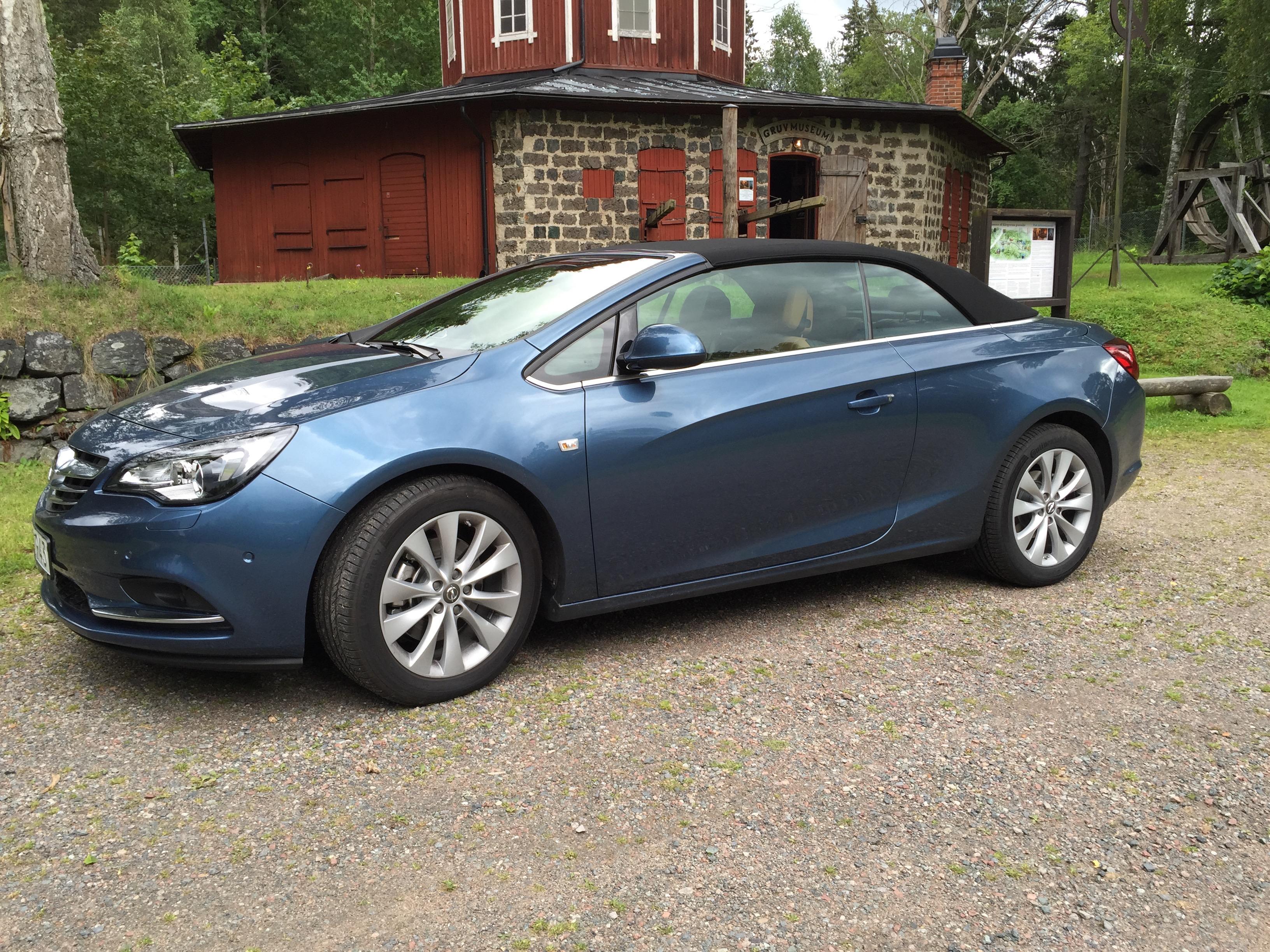 Wallenrud testar: Opel Cascada cab (video)