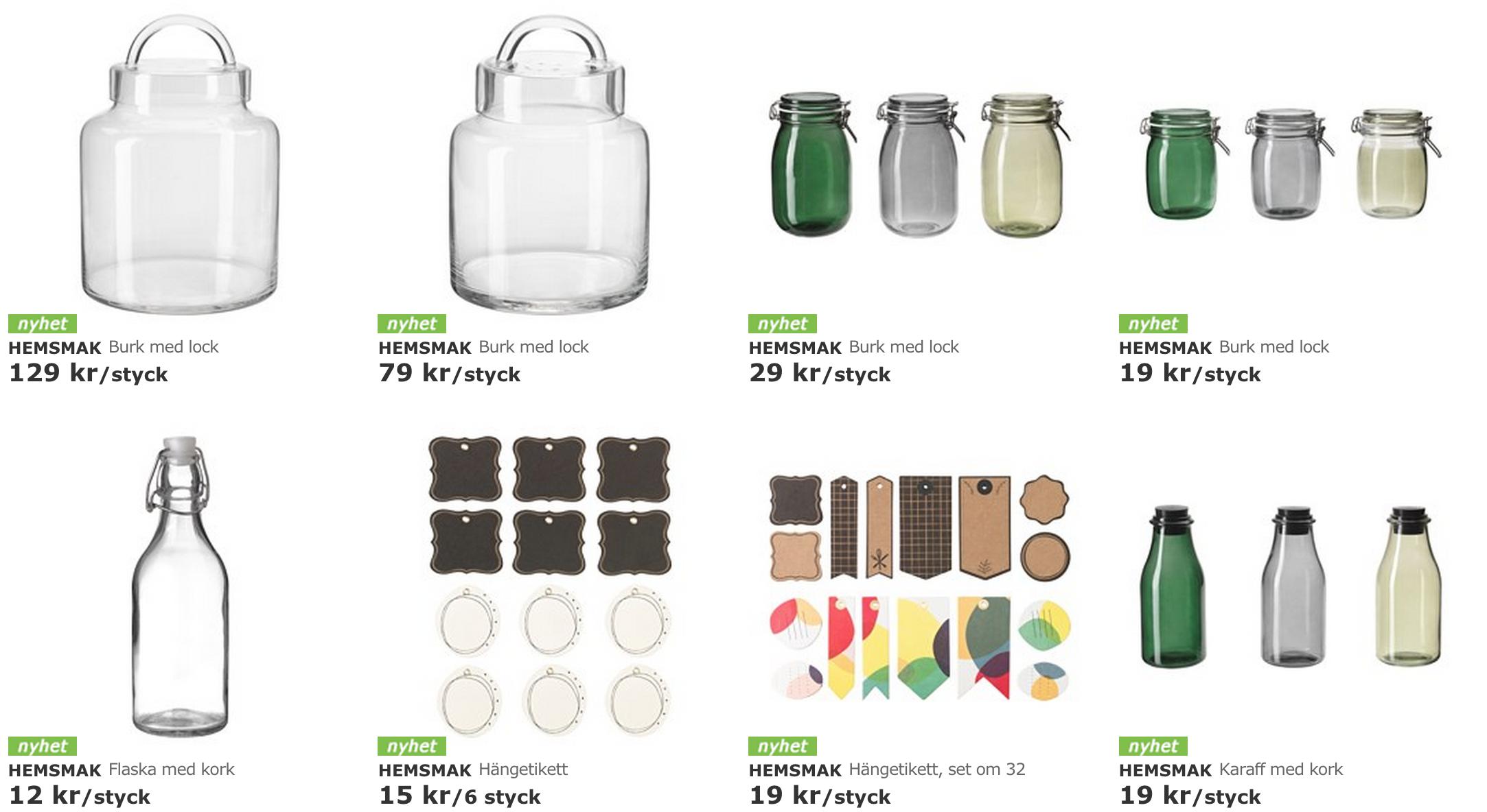 HEMSMAK – ny kollektion på IKEA