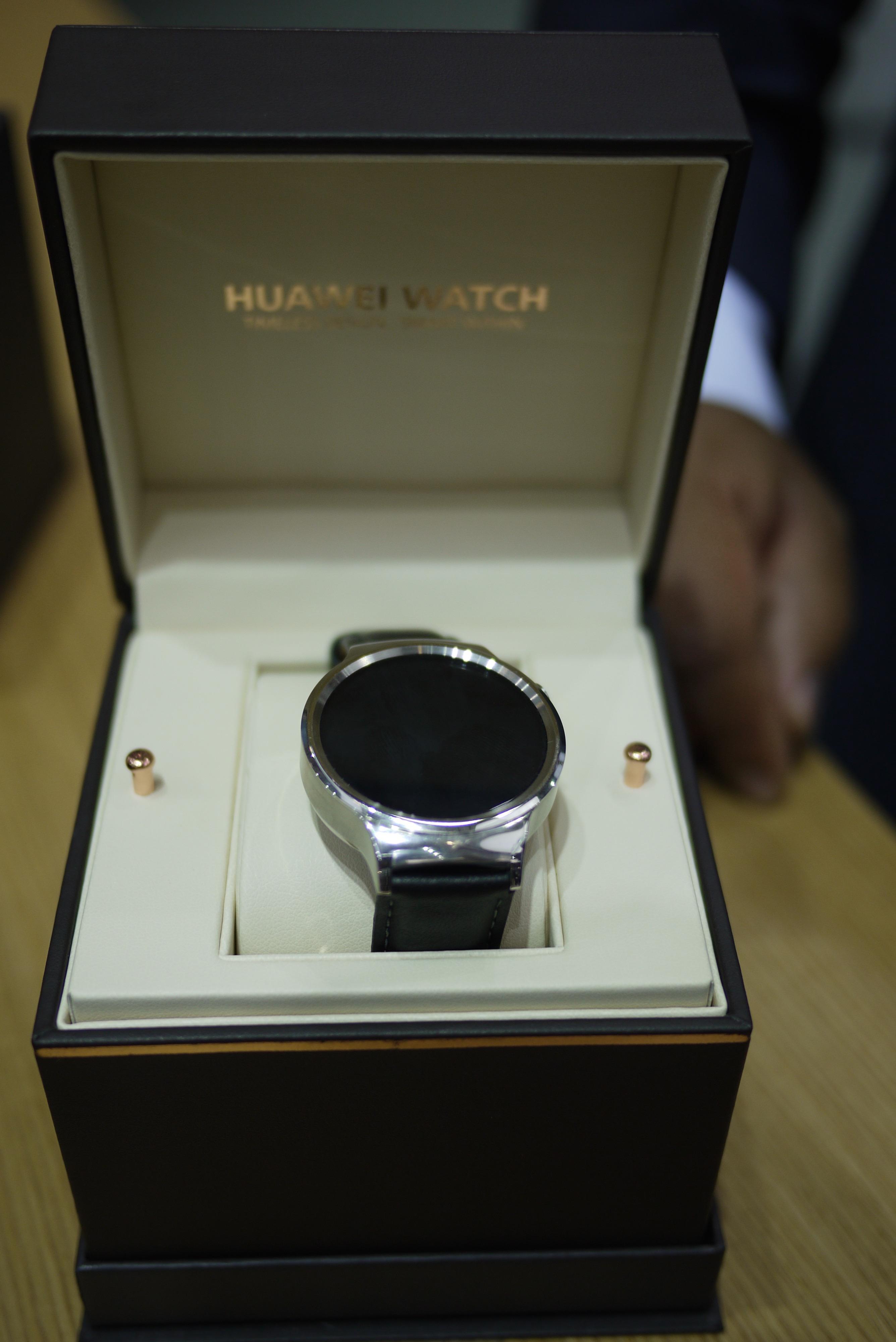 En titt på Huawei Watch