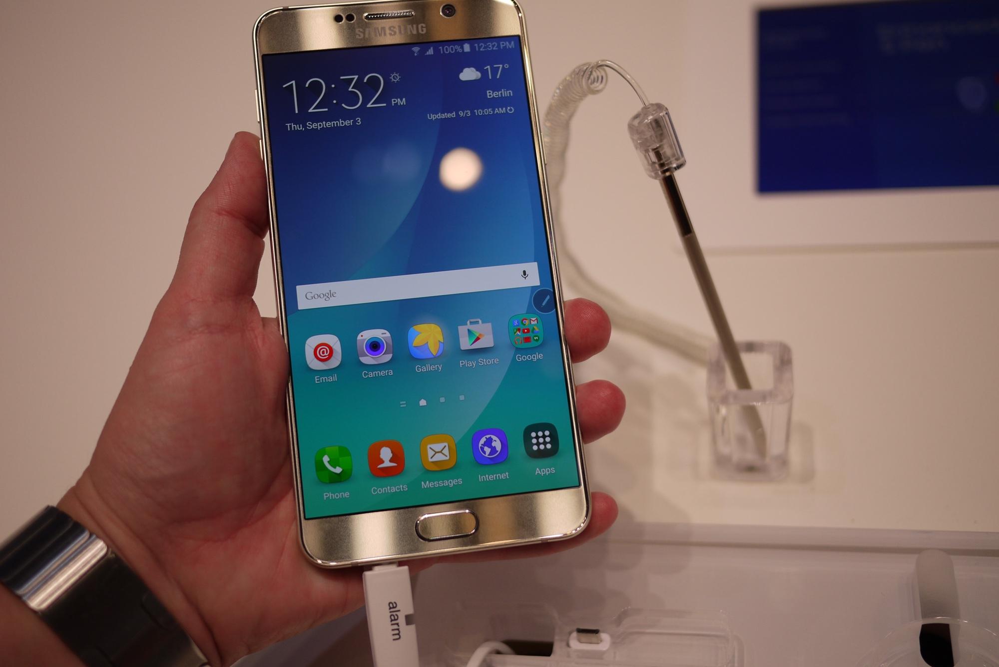 Snabbis med Samsung Galaxy Note 5