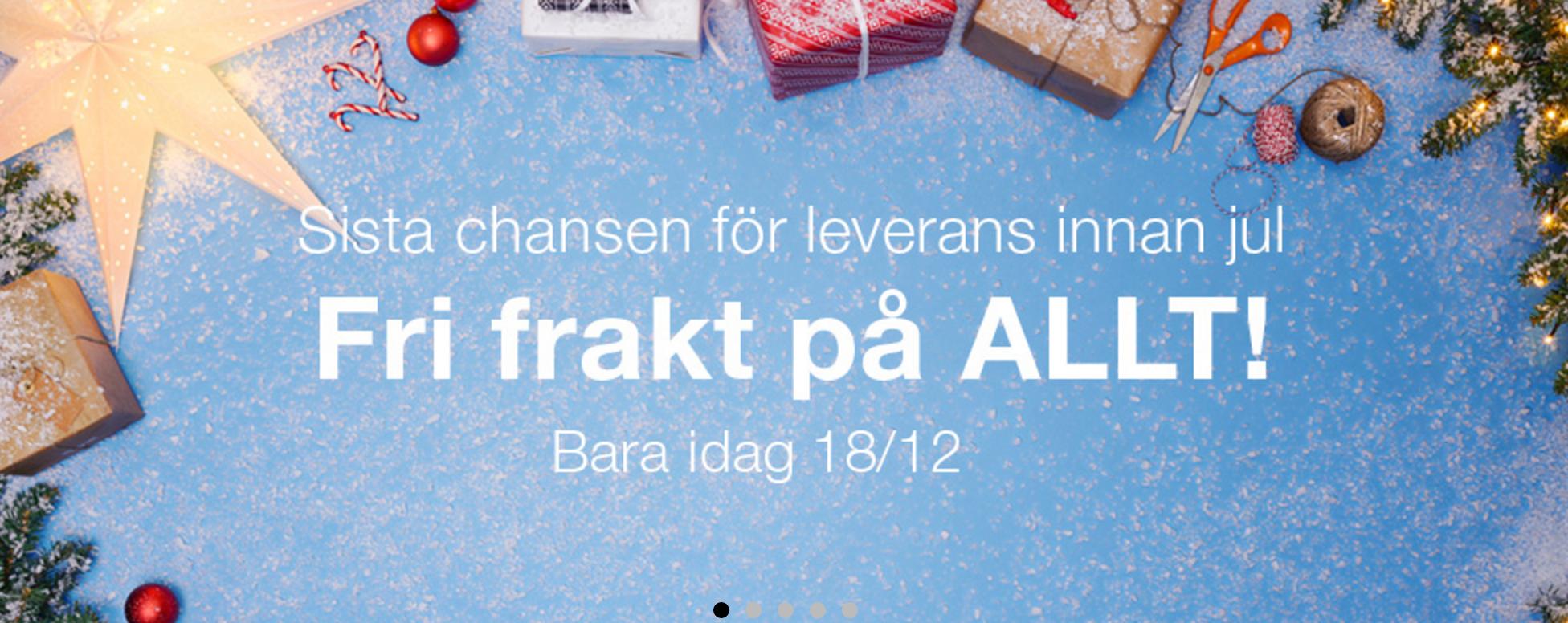 God Jul från Clas Olsson