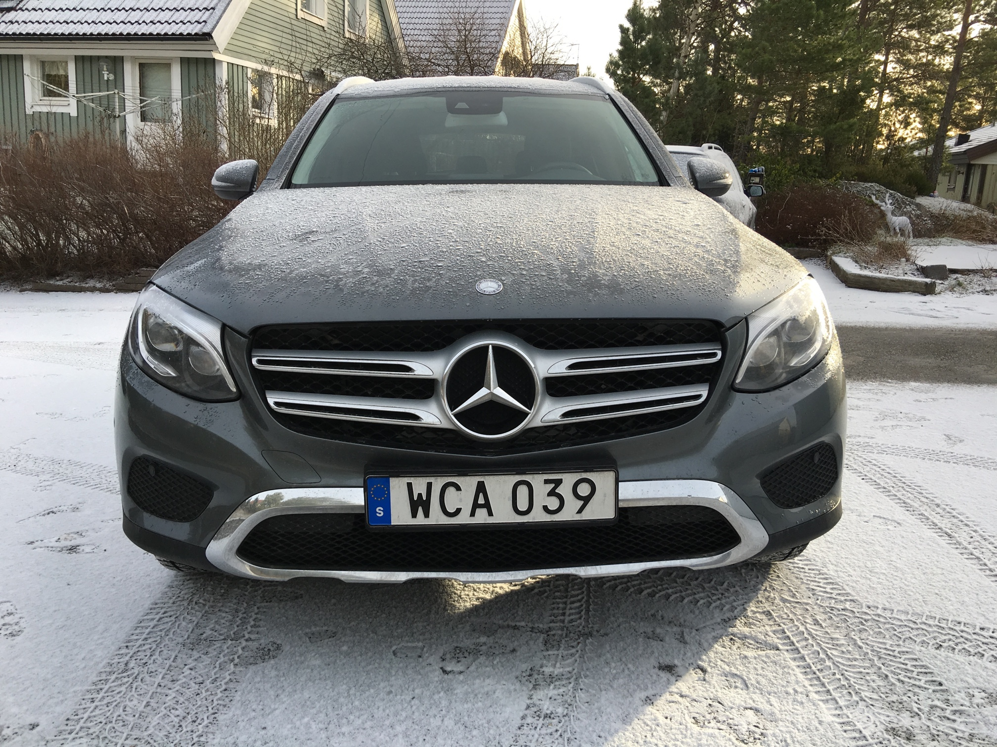 Kolla in Mercedes GLC 220d