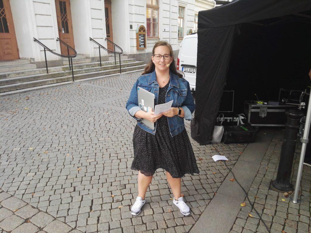Åsa Wallenrud. Fotograf Patrik Broström