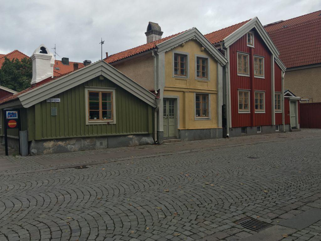 Fantastiska hus i Kalmar. Fotograf: Åsa Wallenrud