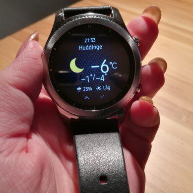 Wallenrud testar Samsung Gear S3 – smart klocka ⏰