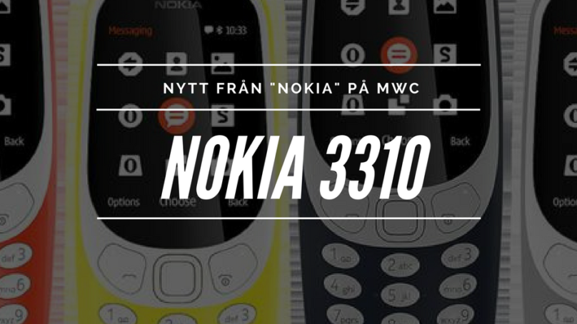 Hej igen Nokia 3310