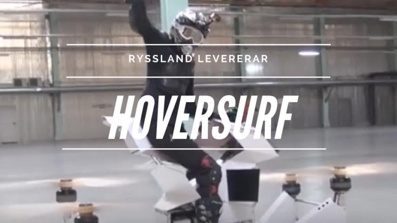 En hovrande motorcykel finns