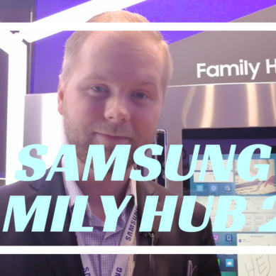 Kolla närmare på Samsung Family Hub 2.0