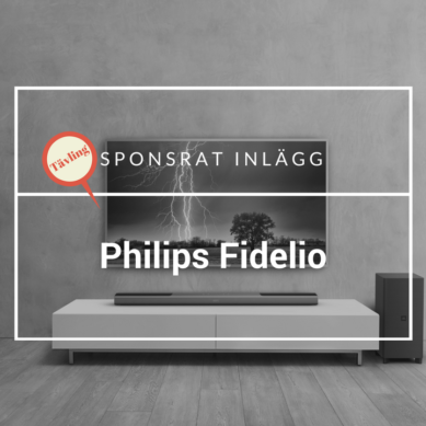 Tävla om Fidelio B8 med Dolby Atmos och Ambisound