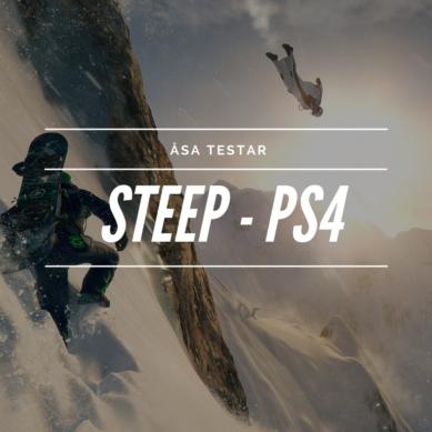 Åsa spelar Steep – Playstation