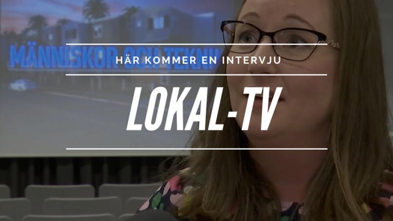 Åsa på lokal-tv – en fin intervju!