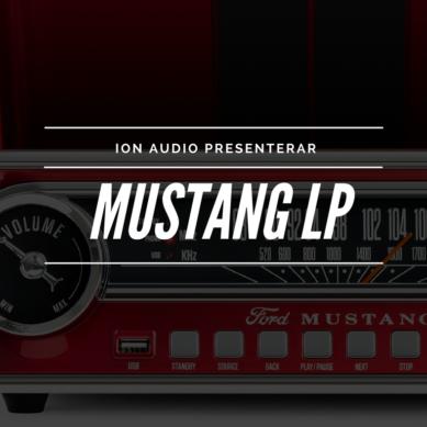 ION Audio ger oss Mustang LP – halleluja