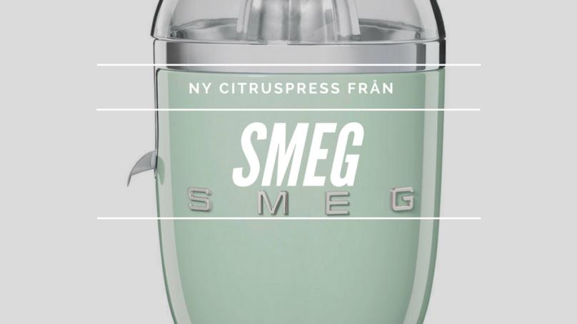 Ny citruspress från SMEG – en riktig skönhet