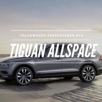 Volkswagen Tiguan Allspace visas i Genéve