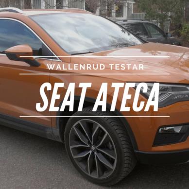 Wallenrud testar: Seat Ateca TDI 190 DSG7 4DR XC