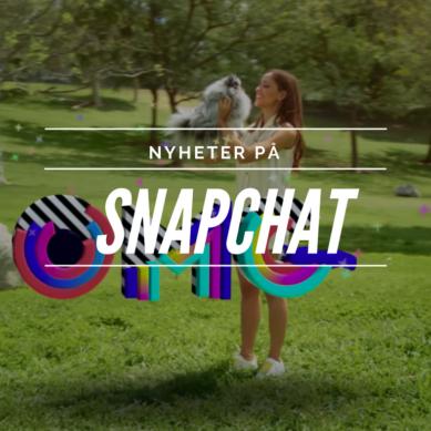 Nytt på Snapchat!