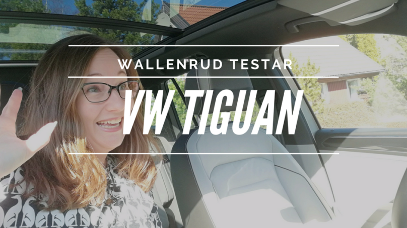 Wallenrud testar Volkswagen Tiguan GT TSI 220 DSG
