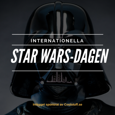 May the fourth be with you! Internationella Star Wars-dagen är här.