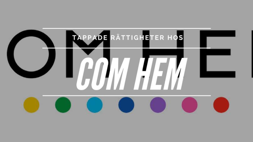 COM HEM mister Kanal 5 och andra kanaler