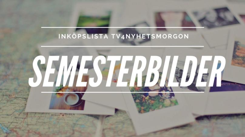 Inköpslista TV4 Nyhetsmorgon – Foton