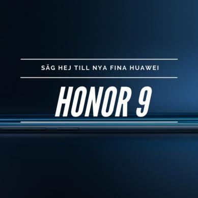 Välkommen Huawei Honor 9