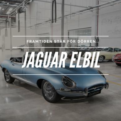 Jaguar tar ett kliv in i framtiden