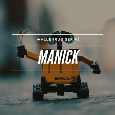 Wallenrud tittar på Manick på TV6
