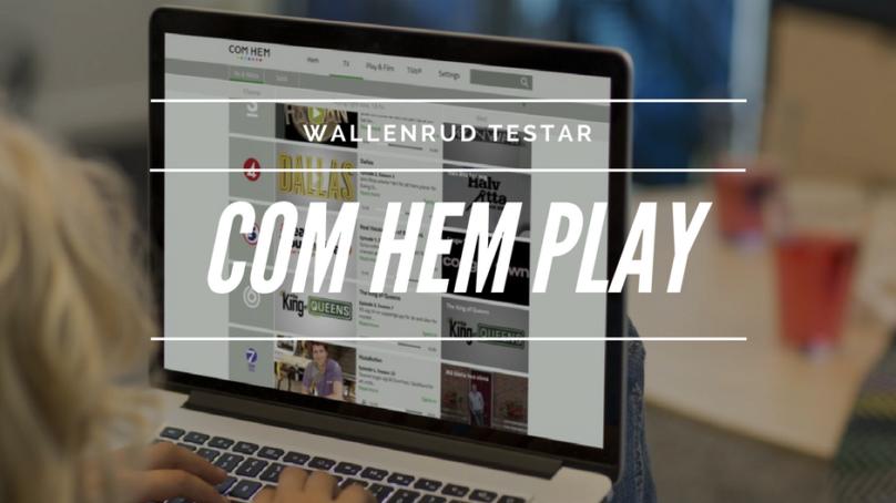 Test av COM HEM Play (I ett icke COM HEM-hus)