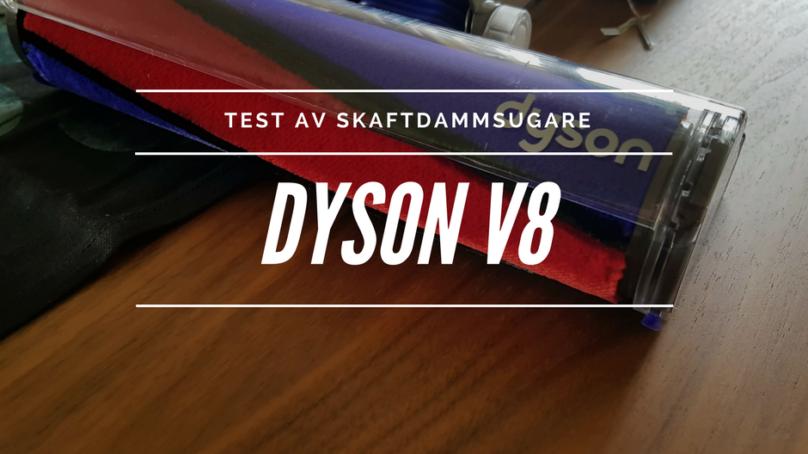 Wallenruds test av Dyson V8 dammsugare
