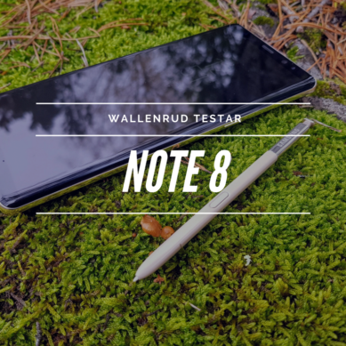 Wallenrud testar Samsung Galaxy Note 8