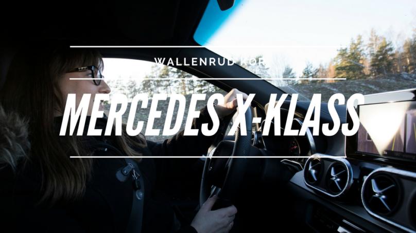 Mercedes X-klass – en pick-up byggd tillsammans med Nissan