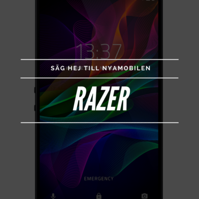 Ny aktör tar klivet in på svenska mobilmarknaden – Razer Phone