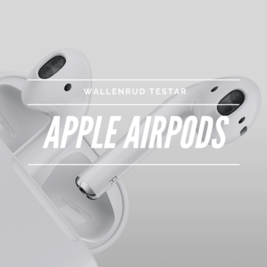 Wallenrud testar Apple Airpods
