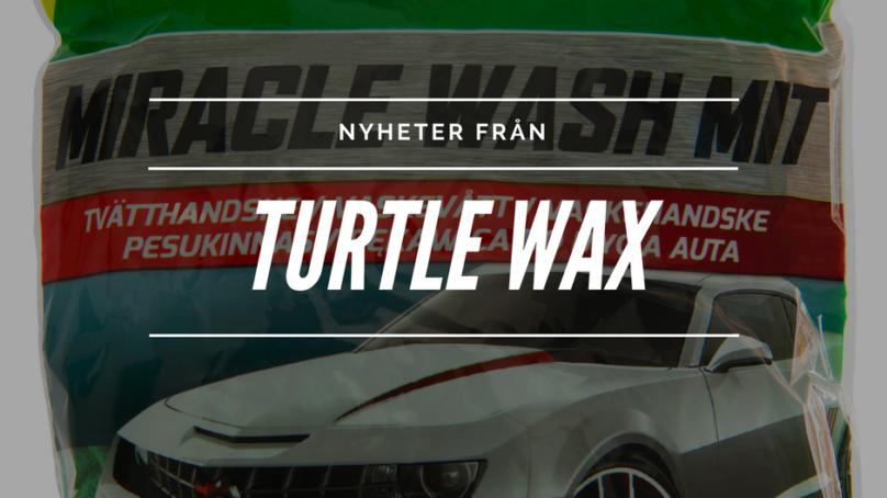 Turtle Wax lanserar nya produkter för vårens bilvård