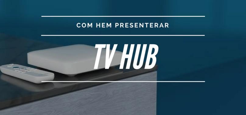 Com Hem och Boxer lanserar Tv hub – en plattform baserad på Android TV
