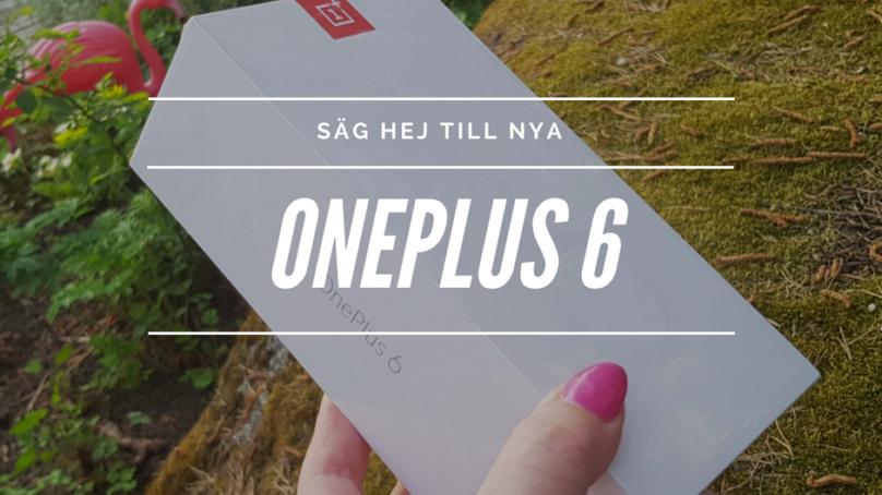Oneplus lanserade Oneplus 6 och hörlurarna Oneplus Bullets Wireless