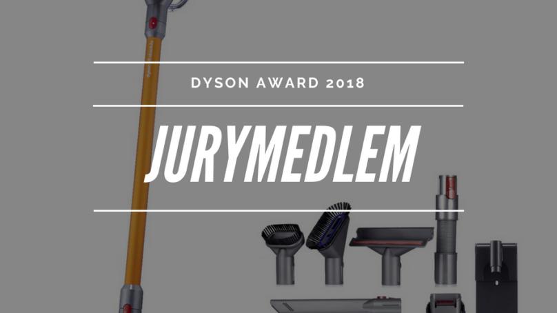 Dyson award – jag är med i juryn