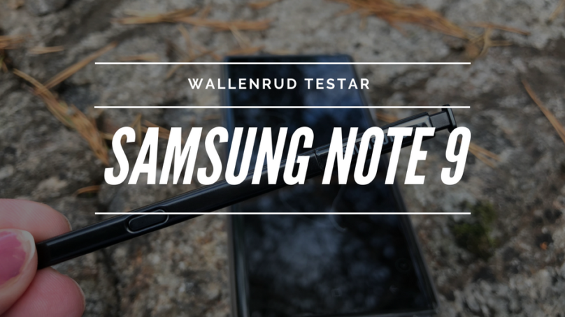 Samsung Galaxy Note 9 – perfekt för influencern