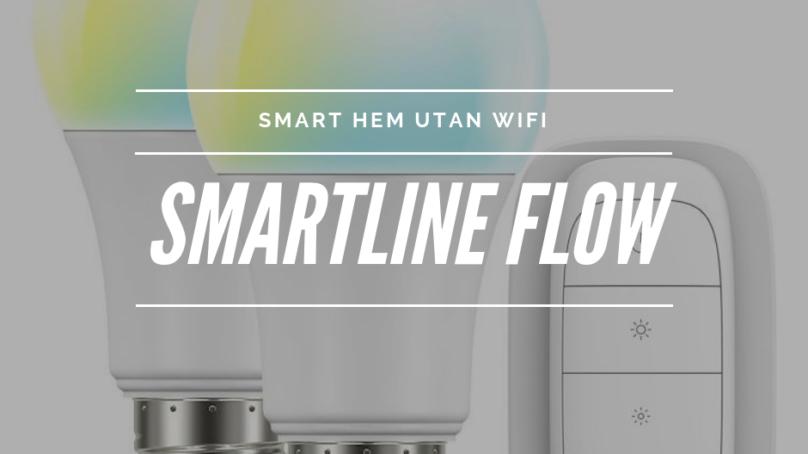 Smartline Flow – smarta hemmet nu ännu enklare