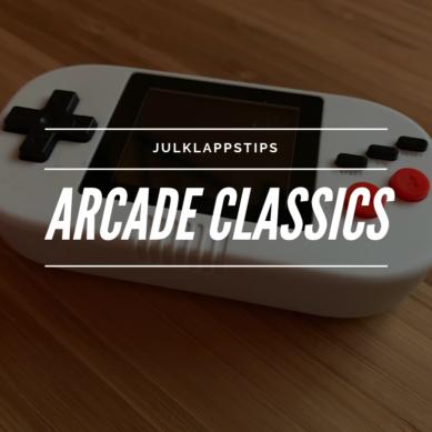 Julklappstips – Arcade Classics, Mini